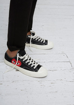 Comme des Garcons black converse chuck taylor low-top