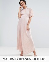 Queen Bee Lace Maxi Dress
