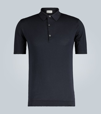 John Smedley Adrian short-sleeved polo shirt