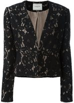 Lanvin floral lace jacket - women - Silk/Cotton/Polyamide/Viscose - 38