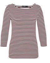 Hallhuber Stripe top with three-quarter sleeves