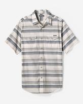 Eddie Bauer Men's Vashon Short-Sleeve Shirt - Slub Stripe