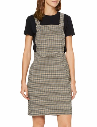 New Look Women's F SP Henry Check Bengaline PNY Dress