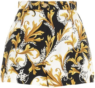 Versace Baroque Patterned Shorts