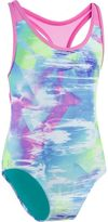Under Armour Girls 7-16 Dusty One-Piece Swimsuit