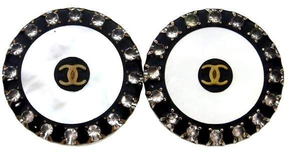 Chanel Rhinestone Earring