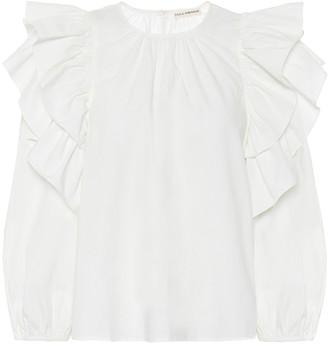 Ulla Johnson Caasi cotton-poplin blouse