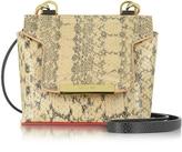 Vionnet Mosaic 15 Foie Gras Ayers Micro Crossbody Bag