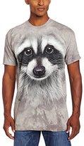 The Mountain Men's Raccoon Face T-Shirt