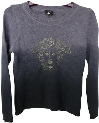 Versace Grey Cashmere Knitwear for Women Vintage