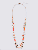 M&S Collection Beaded Rope Necklace