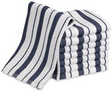 Williams-Sonoma Classic Striped Dishcloths, Navy