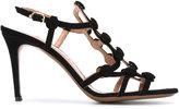 L'Autre Chose strappy sandals - women - Leather/Suede - 36