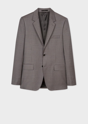 Paul Smith The Soho - Tailored-Fit Micro-Check Wool Blazer