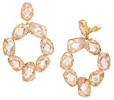 Tory Burch Stone Abstract Wreath Earring