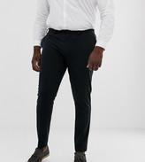 Asos Design DESIGN Plus super skinny fit suit trousers in black