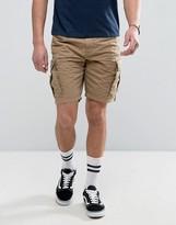 Napapijri Noto Cargo Shorts In Beige