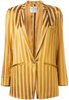 Forte Forte striped blazer - women - Polyester/Viscose - 3