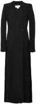 Antonio Berardi Long Sleeve Wrap Jumpsuit