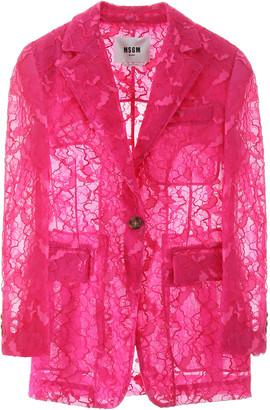 MSGM Lace Blazer