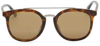 Gucci 52MM Unisex Round Sunglasses