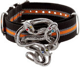 Gabriele Frantzen Black & Orange Snake Candy Bracelet