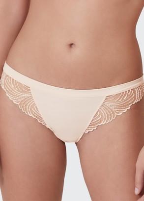 Simone Perele Nuance Lace-Trim Thong