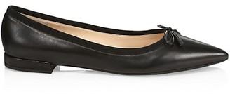 Prada Leather Ballet Flats