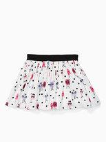 Kate Spade Girls monster skirt