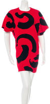 Celine 2014 Graffiti Print T-Shirt Dress