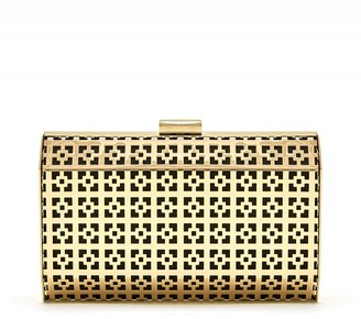 bell&fox SAMIA GEOMETRIC METAL CLUTCH
