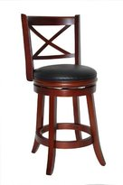 Boraam 49624 Georgia Swivel Stool, 24-Inch