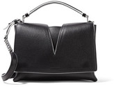 Jil Sander Cutout Textured-Leather Shoulder Bag