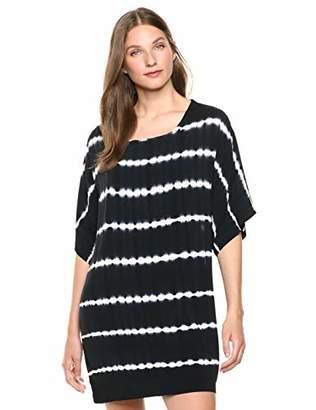 Splendid Women's Jersey Scoop Neck Short Sleeve Dress