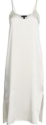 ATM Anthony Thomas Melillo Silk Slip Dress