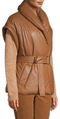 Escada Sport Belted Puffer Vest