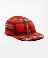 Todd Snyder Wool Plaid Hat in Orange