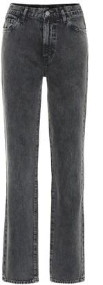 J Brand x Elsa Hosk Sunday mid-rise straight jeans