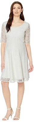 Tiffany Rose Verona Maternity Wedding Dress (Ivory White) Women's Dress