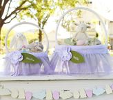 Pottery Barn Kids Lavender Fairy Easter Basket Liners