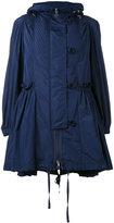 Moncler padded flounce hem jacket - women - Polyamide/Goose Down - 0