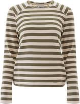 Ganni Striped T-shirt