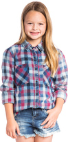 Blank NYC BLANKNYC Button Up Plaid Top