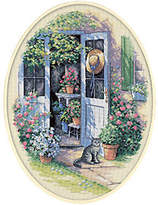 Dimensions Garden Door Counted Cross-stitch Kit