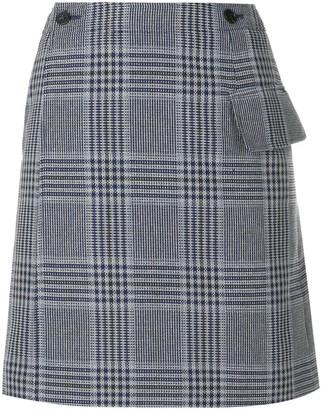 Acne Studios Plaid Mini Skirt