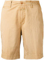 Closed chino shorts - women - Cotton/Spandex/Elastane - 27