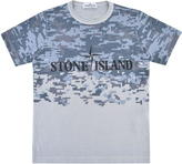 Stone Island Junior Boys Pixel Logo T Shirt