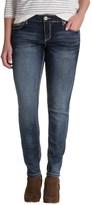 Rhythm in Blues Stretch Skinny Jeans (For Women)