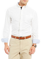 Daniel Cremieux Big & Tall Solid Soft Washed Oxford Long-Sleeve Woven Shirt