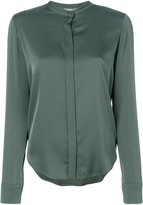 Vince collarless blouse